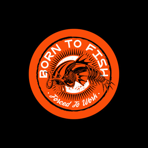 Born To Fish Decal