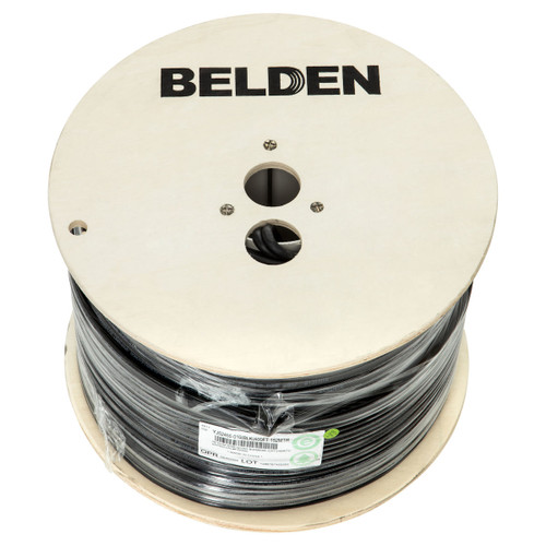 Belden BC73785 RG6 Tri Shield 152m Reel