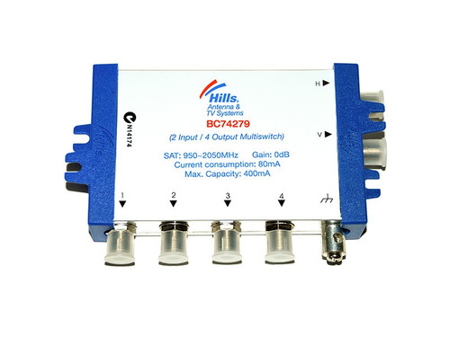 Hills BC74279H 2 In - 4 Out Multiswitch