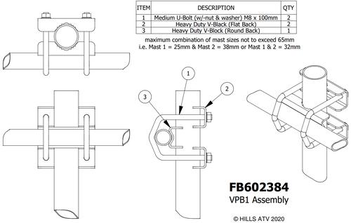 Hills FB602384 VPB1 Assembly