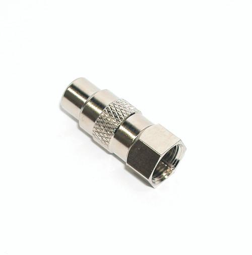 Hills BC3716 F-Type Female to RCA Female Adaptor