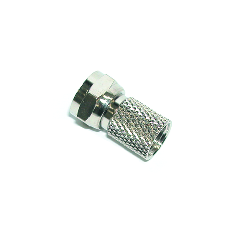 Hills BC14302B RG6 F-Type Twist Connector 10-Pack in Box