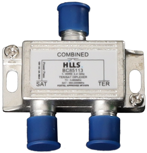 Hills BC85113 FTA/SAT 2.4GHz Diplexer