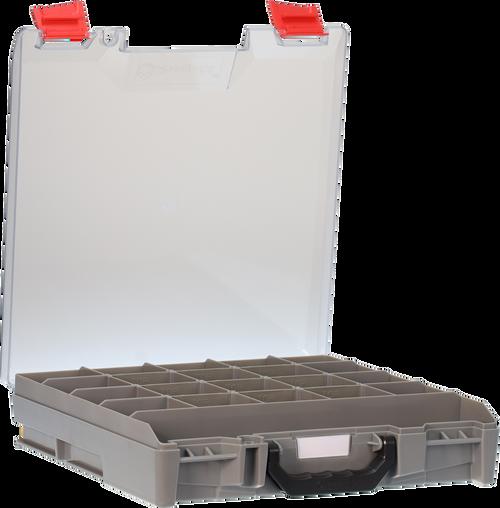 StorageTek Case Small Clear PC Lid-Grey