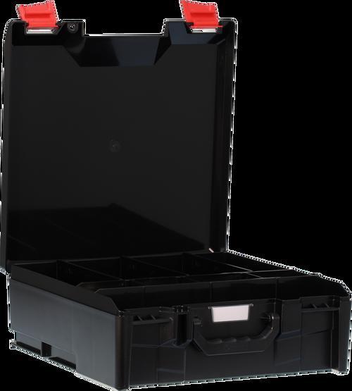 StorageTek Case Large ABS Lid c/w dividers-Black
