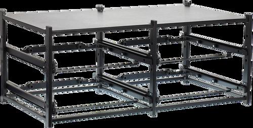 Dual Frame assembled for 4 STL Large Cases