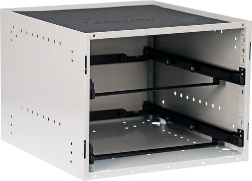 Cabinet holds 2 x STL Large Cases