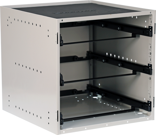 Cabinet holds 2 STL Large + 1 STS Small Case