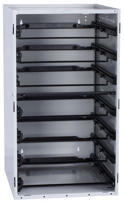 Cabinet holds 7 x STS Small Cases