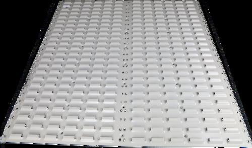 914 x 914- Louvered Panel Wide- (Medium Length)