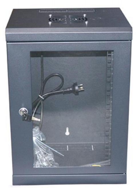 """Datatek 10"""" 9U Mini Wall Mounted Data Cabinet"""