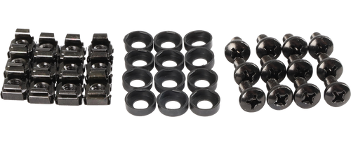Datatek 12 Pack of Cage Nuts for Data Cabinets