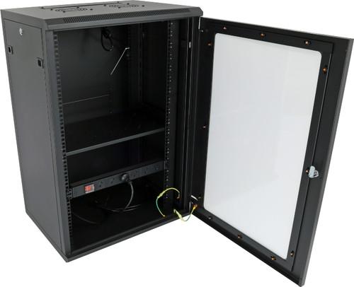 Datatek 18U 450mm Deep Wall Mount Data Cabinet - FPS Series