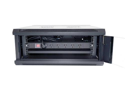 Datatek 4U 600mm Swing Frame Wall Mount Data Cabinet - SFPS Series