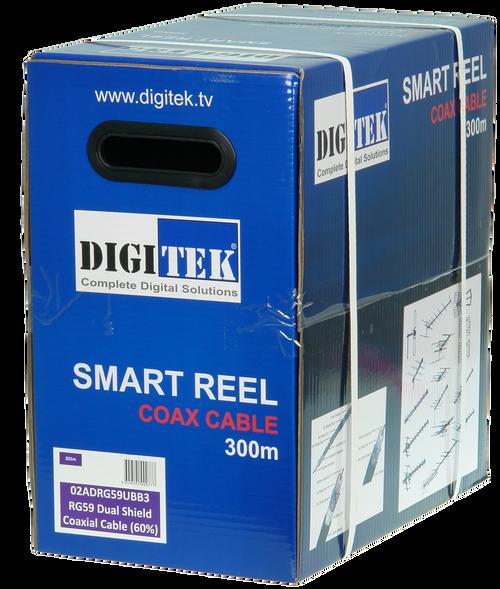 Digitek RG59UB 60% 300M Smart Reel (Box)