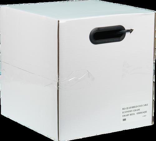 Economy RG6 Quad Shield Cable 305M Smart Reel (Box)