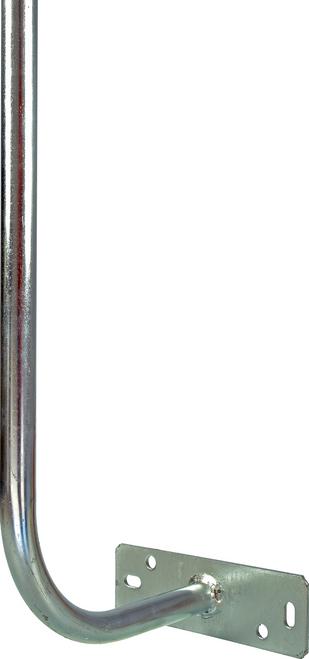 Digitek 1.2M Curved Fascia Bracket (Hockey Stick) - Galvanised