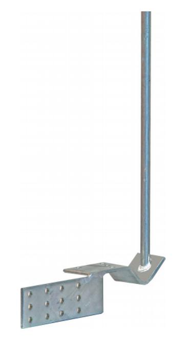 Digitek FTA 1.8M Antenna Gutter Mount - Galvanised
