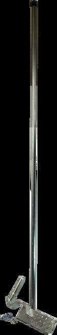 Digitek 2 Piece FTA 1.8M Antenna Gutter Mount - Galvanised