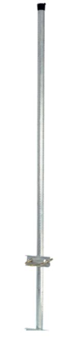 Digitek 1.5M Mast Extension - Galvanised