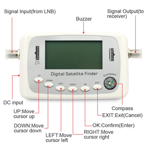 Digitek Digital Satellite Finder