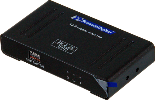 ProquipDigital 1 in 2 Out HDMI Splitter - 4k @ 60Hz