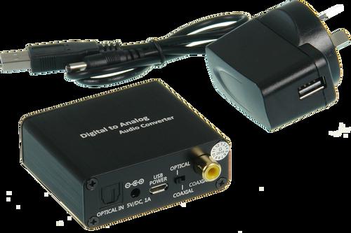 ProquipDigital 192KHz Digital to Analogue Audio Converter