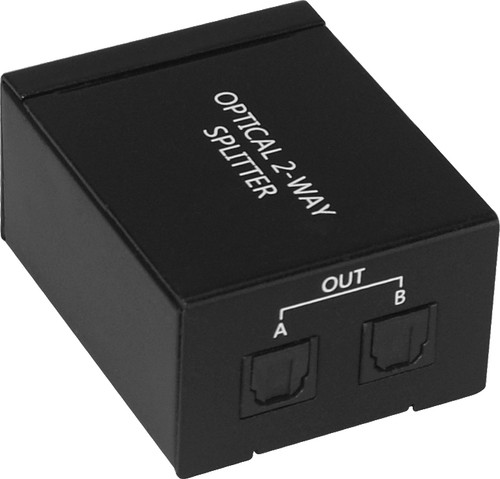ProquipDigital 2 Way Digital Optical Audio Splitter