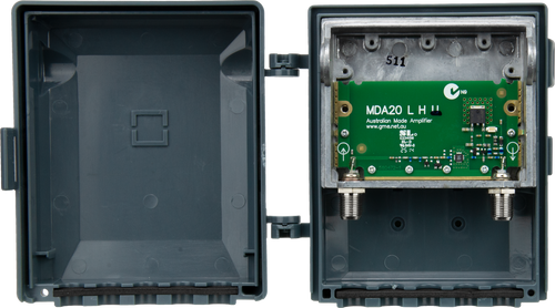 Kingray MDA20UT 19dB UHF Masthead Distribution Amplifier, Fully Shielded, Low Noise