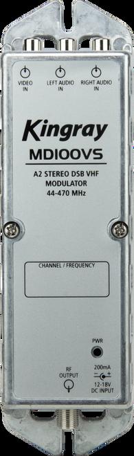 Kingray MD100VS Stereo Analogue Modulator 44-470MHz