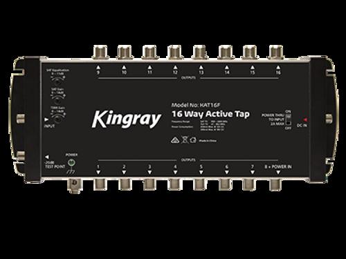 Kingray KAT16F 16 Port Active Tap, Single Input 47-2400MHz Frequency Range