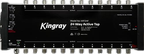 Kingray KAT24F 24 Port Active Tap, Single Input 47-2400MHz Frequency Range