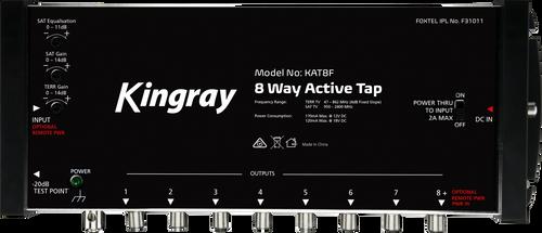 Kingray KAT8F 8 Port Active Tap, Single Input 47-2400MHz Frequency Range