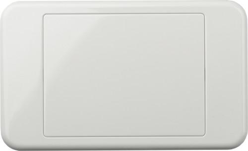 Digitek Blank Wallplate - White