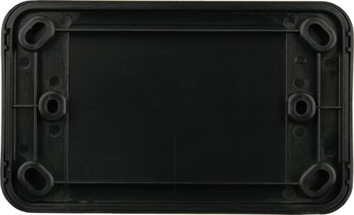 Digitek Blank Wallplate - Black
