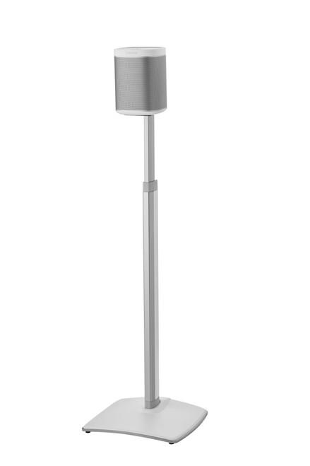 SANUS Premium Adjustable Wireless Speaker Stand for SONOS ONE, PLAY:1 & PLAY:3 Speakers - White