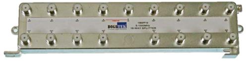 Digitek 16 Way 5-1000MHz F Type Splitter - 1 Leg Power Pass