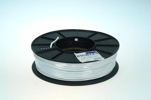Digitek 6 Core 14/0.20mm Security Cable 100m Reel - White