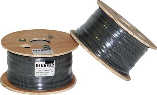 Digitek Figure 8 14 Strand/0.20mm 100m Reel - Grey