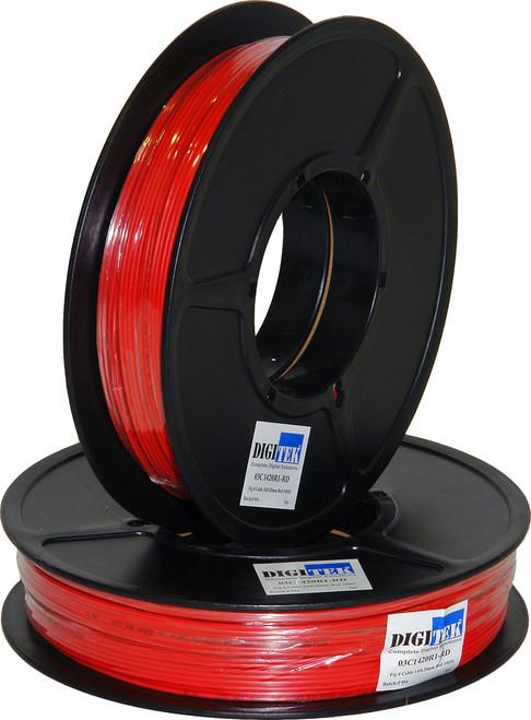 Digitek Figure 8 14 Strand/0.20mm 100m Reel - Red