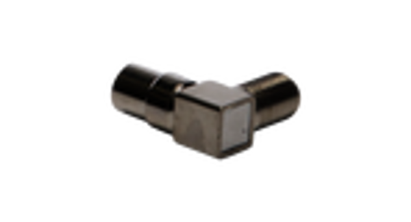 Hills BC87045 F-Type Female to PAL Male Right Angle Adaptor