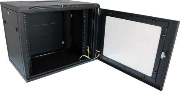 Datatek 9U 450mm Deep Wall Mount Data Cabinet