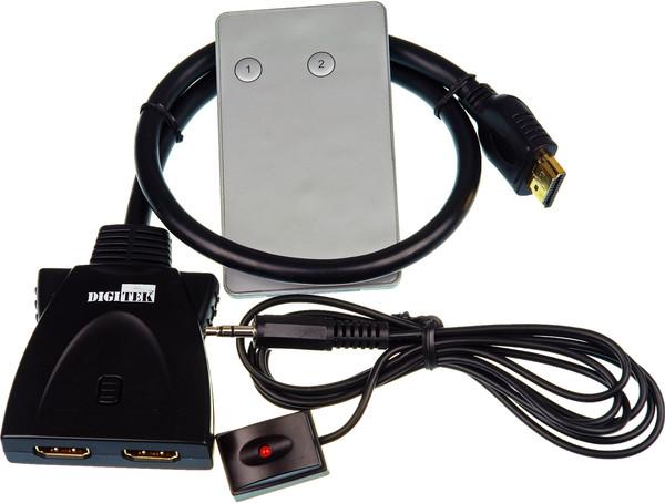 Digitek 2 Way HDMI Switch