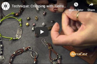 DIY Basics: Crimping with Barrel Beads