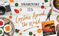 AFRICA, July's Inspiration from Swarovski's Crystals Around the World