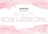 Rose Water Opal, Swarovski's Psychology of Colors Hue for August ~