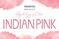 Indian Pink, Swarovski's Psychology of Colors Hue for February