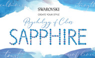Sapphire, Swarovski's Psychology of Colors Hue for October ~