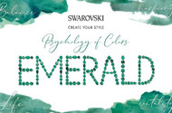 Emerald, Swarovski's Psychology of Colors Hue for November ~