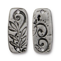 Jardin Bar Link, Antiqued Pewter, 20 per Pack